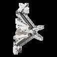 Leatherman charge plus tti titanium multi-tool, stainless steel, 19 tools, angled open view