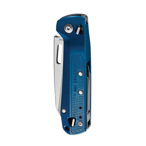 Couteau de poche multi-outils Leatherman K2 rouge cramoisi avec lame et tous les outils fermés image number 1