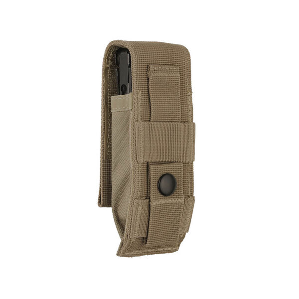 Back view of Large MOLLE Sheath in Brown color image number 1