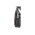 Leatherman mut eod multi-tool, closed view, back view, black