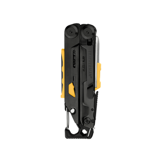 Leatherman signal multi-tool, black, closed, back view