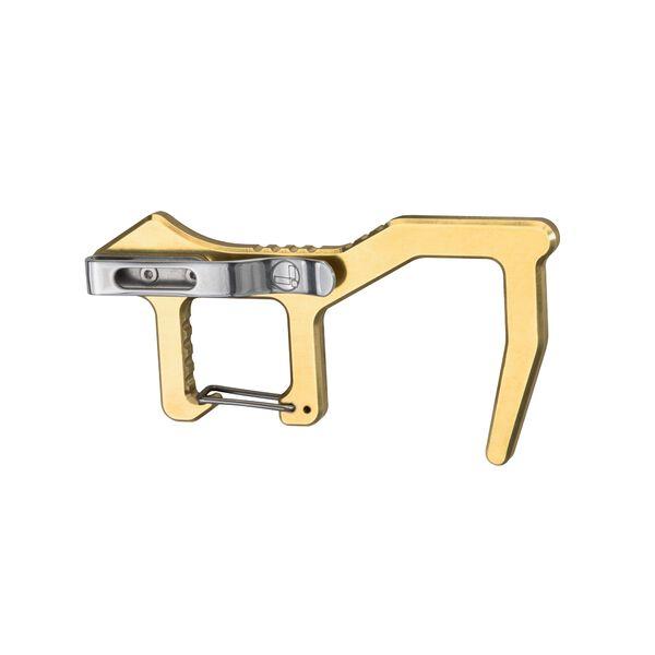 Rückansicht des Clean Contact Carabiner mit Taschenclip image number 1
