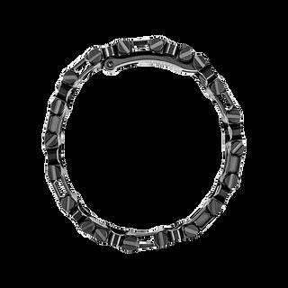 Leatherman tread multi-tool bracelet in black, side view