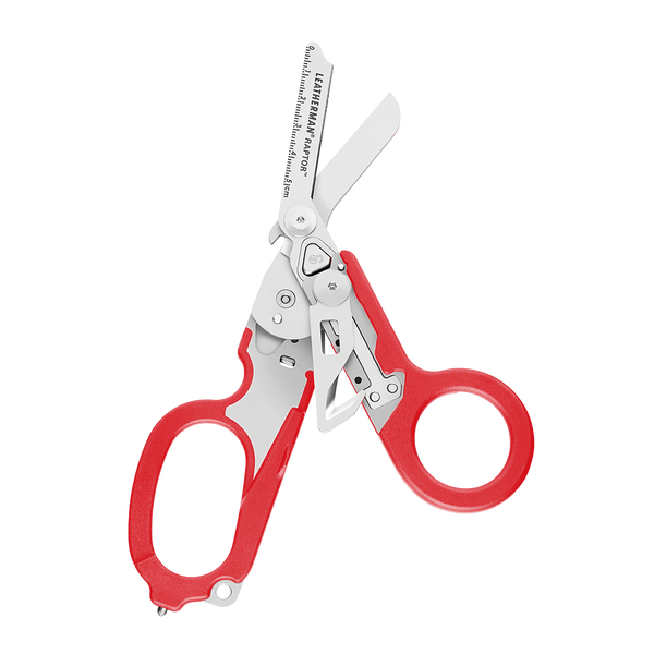 Leatherman Signal shears, red, open view