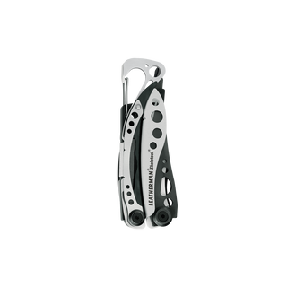 Leatherman skeletool multi-tool, black & silver, closed view
