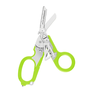Leatherman Signal shears, green, open view