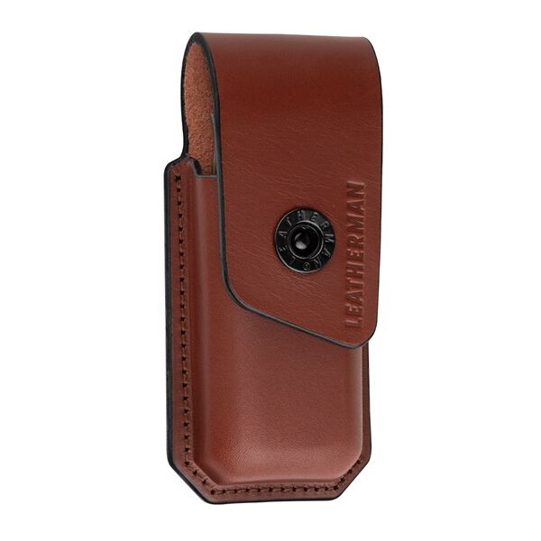 Front of Leather Ainsworth Sheath by Leatherman Tool Group image number 0