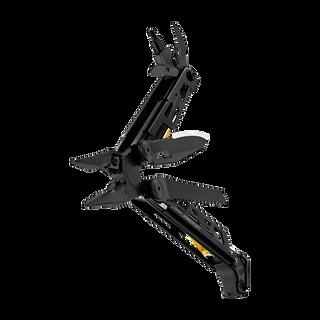 Leatherman signal multi-tool, black, beauty open view, 19 tools