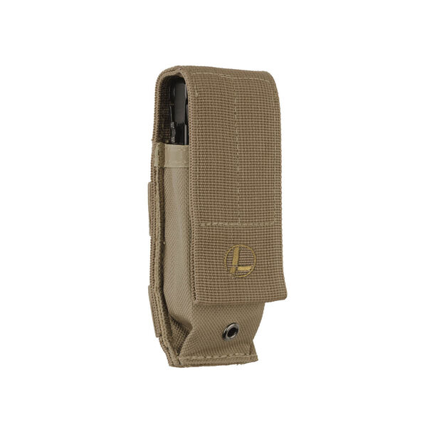 Front view of Large MOLLE Sheath in Brown color image number 0