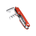Leatherman Juice CS3 multi-tool, red, 4 tools, angled open view