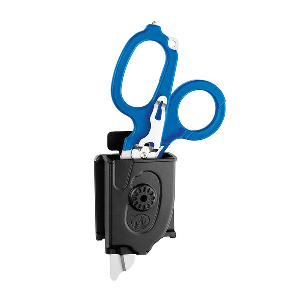 Leatherman Raptor Rescue shears, blue, in holster image number 3