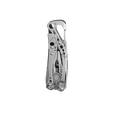 Leatherman skeletool multi-tool, stainless steel, closed view