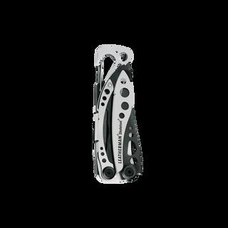 Leatherman skeletool multi-tool, black & silver, closed view