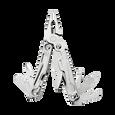 Leatherman rev multi-tool open, stainless steel, 14 tools