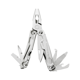 Leatherman rev multi-tool open, stainless steel, 14 tools