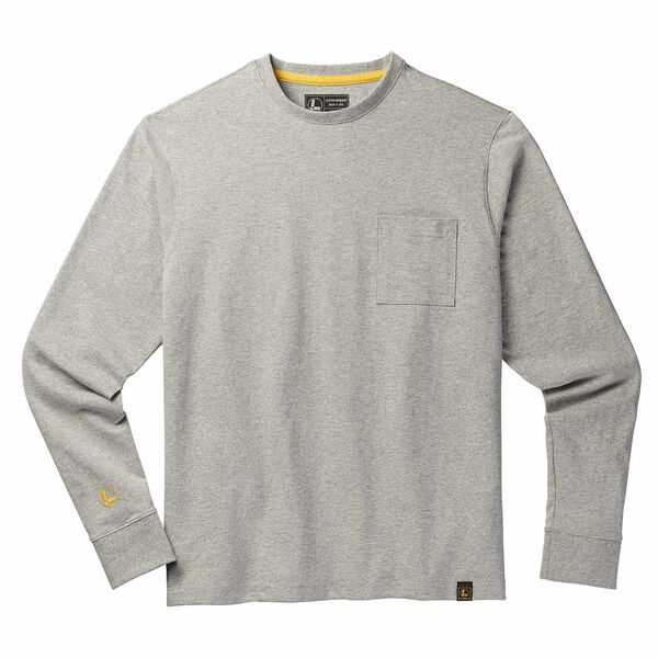Gray long sleeve Leatherman T-Shirt front side image number 0