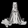Leatherman charge plus tti titanium multi-tool, stainless steel, open view