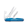 Leatherman Juice CS3 multi-tool, blue, 4 tools, open view