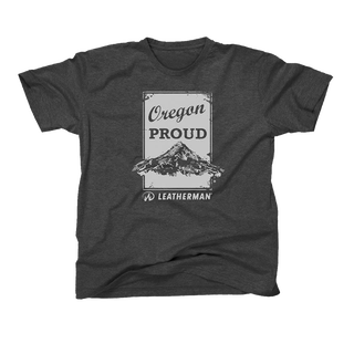 Gray Oregon Proud T-Shirt