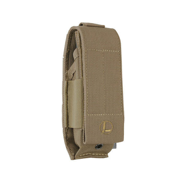 Front view of Extra-Large MOLLE Sheath in Brown color image number 0