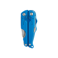 Leatherman leap multi-tool, blue, closed view, multi-tool for children