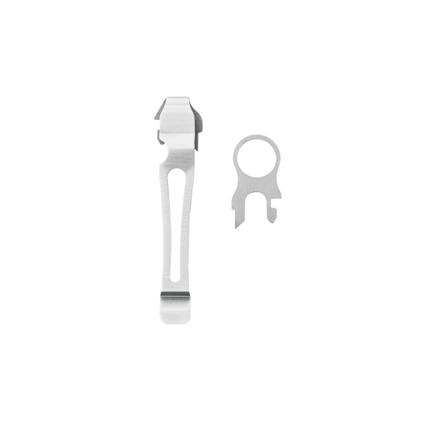 Quick-Release Lanyard Ring & Removable Pocket Clip