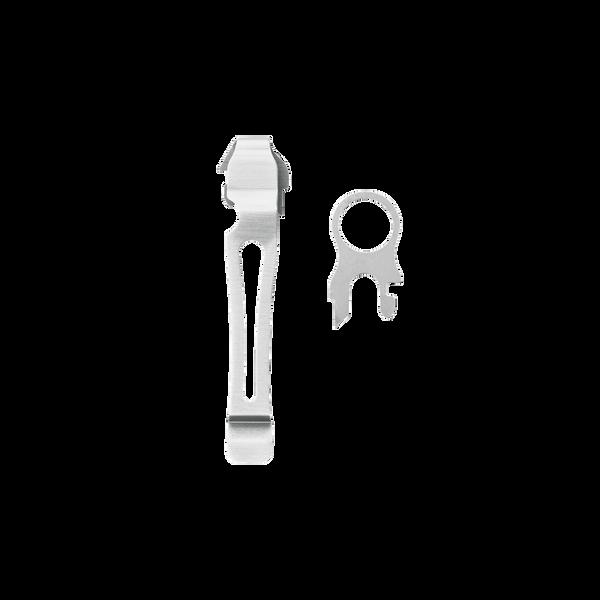 Removable Pocket Clip & Lanyard Ring