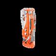 Leatherman skeletool rx multi-tool, orange, closed view