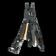 Leatherman mut eod multi-tool, open view, 15 tools, black