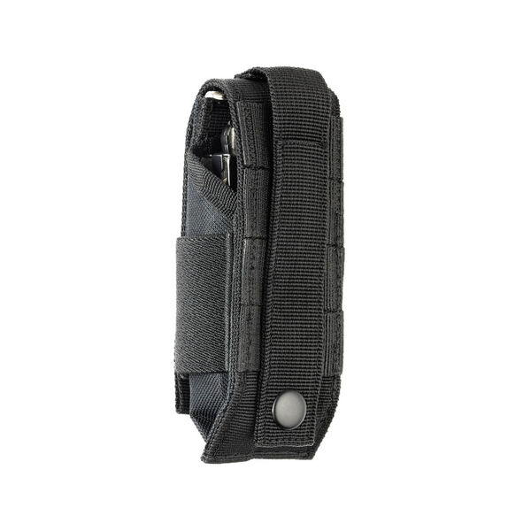 Back view of Extra-Large MOLLE Sheath in Black color image number 1