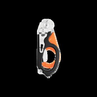 Leatherman Signal shears, orange and black, closed view