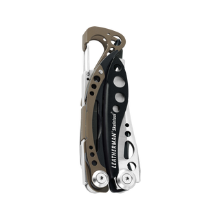 Leatherman skeletool multi-tool, stainless steel, closed view