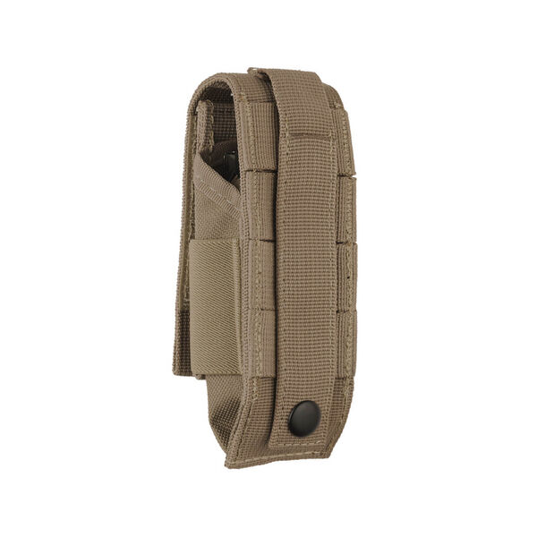 Back view of Extra-Large MOLLE Sheath in Brown color image number 1