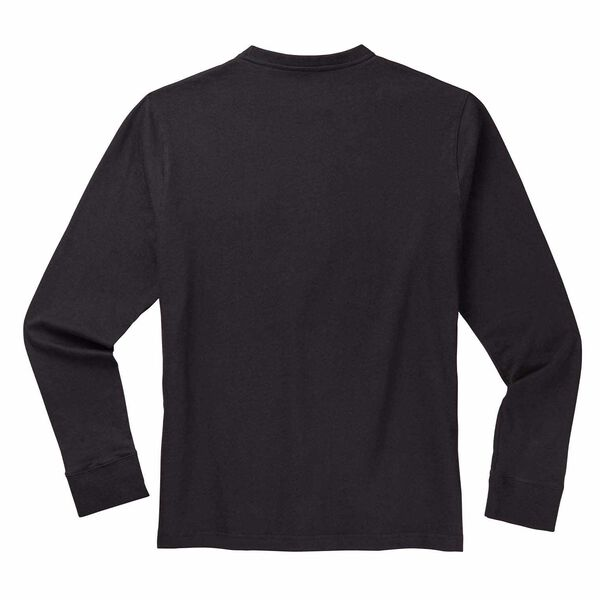 Black long sleeve Leatherman T-Shirt back side image number 1