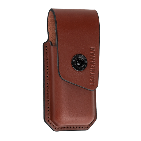 Front of Leather Ainsworth Sheath by Leatherman Tool Group