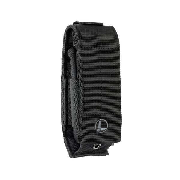 Front view of Extra-Large MOLLE Sheath in Black color image number 0