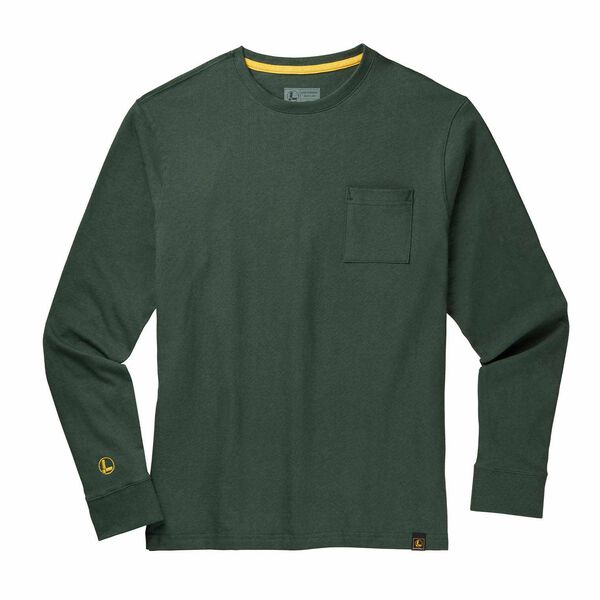 Green long sleeve Leatherman T-Shirt front side image number 0