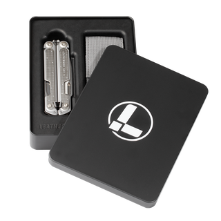 Leatherman FREE P2, stainless steel, packaged in gift tin