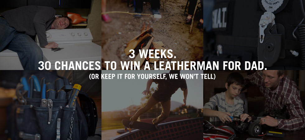 3 weeks, 30 chances to win.