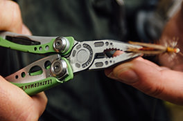Leatherman charge plus tti in multi tool with black nylon
