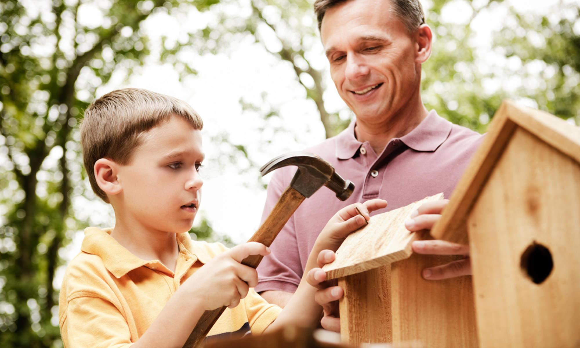 kid project birdhouse