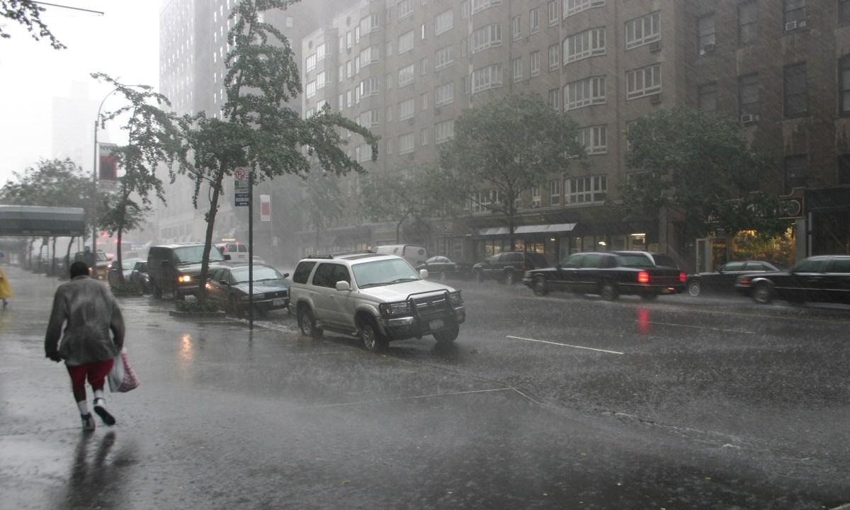 during hurricane