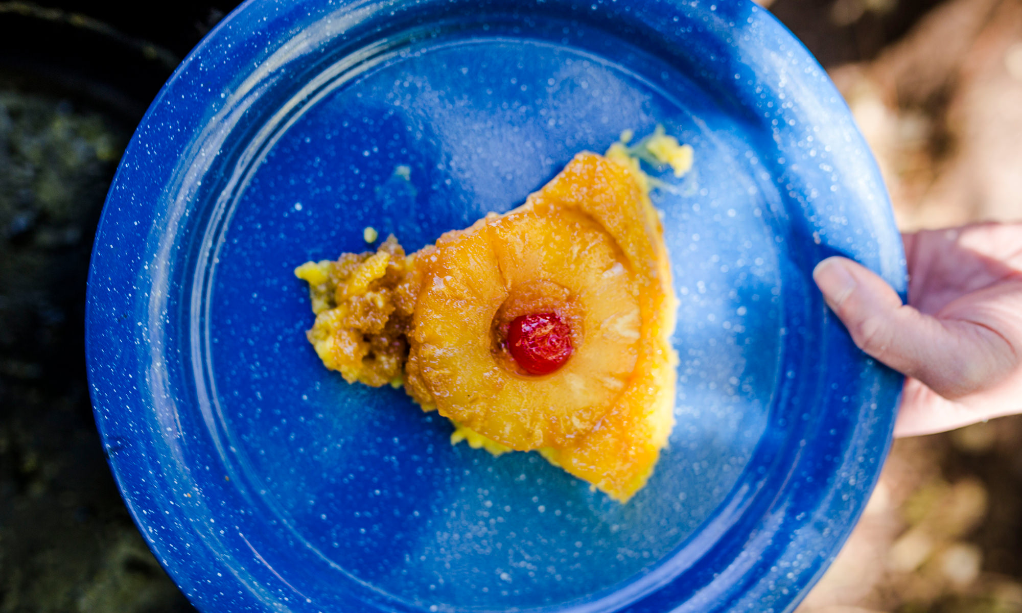Dutch Oven Pineapple Upside Down Cake