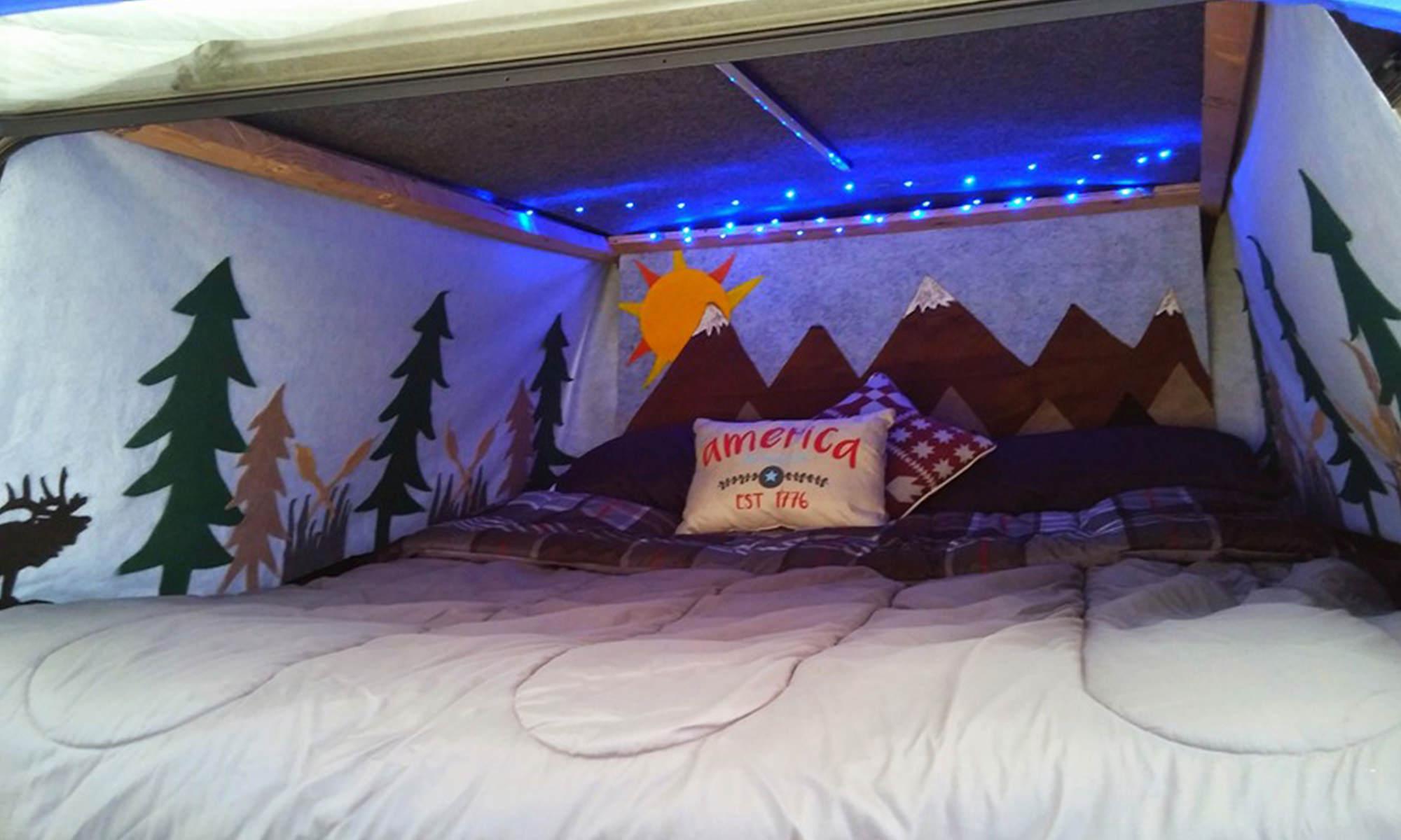 Conversion Van Camping >> DIY Vehicle Camping Curtains