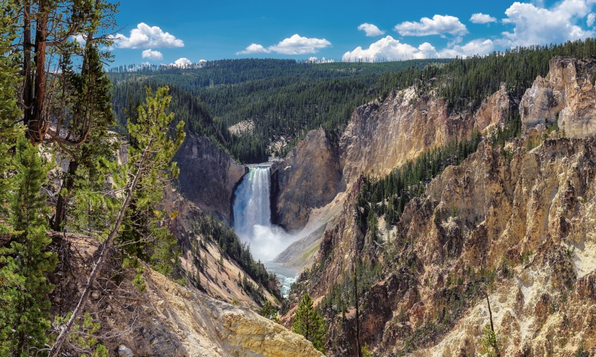 Southeast Region of Yellowstone National Park, Wyoming