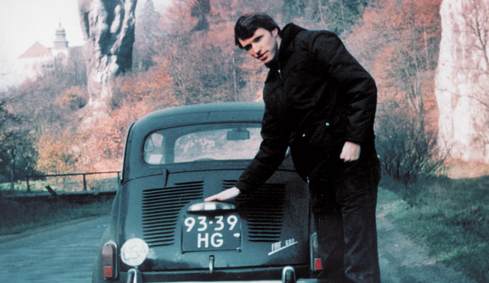 Tim with a Fiat
