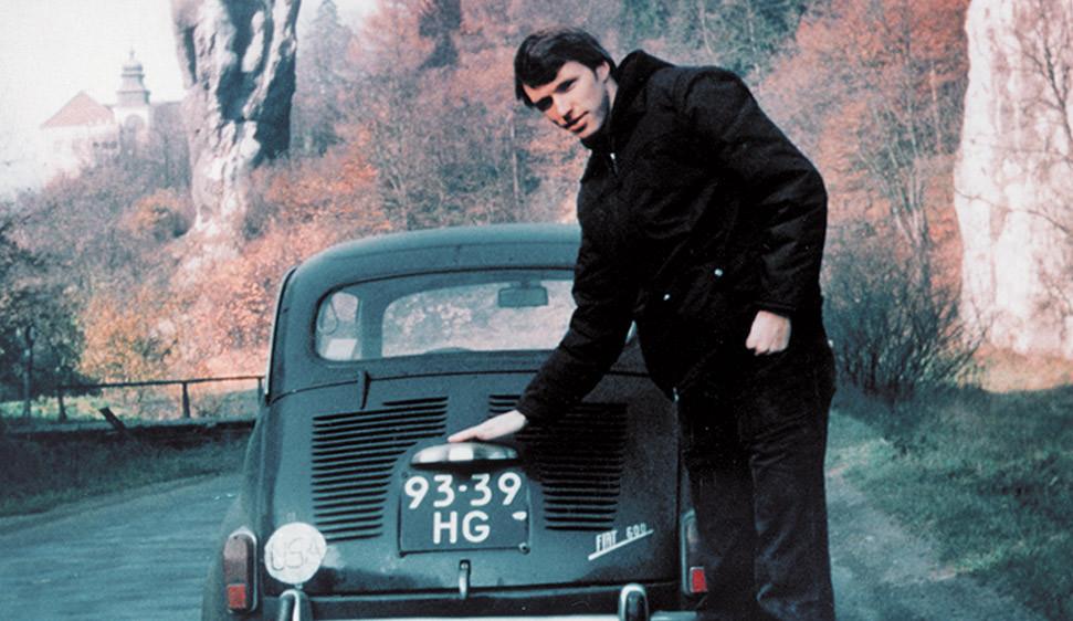 Tim with a Fiat