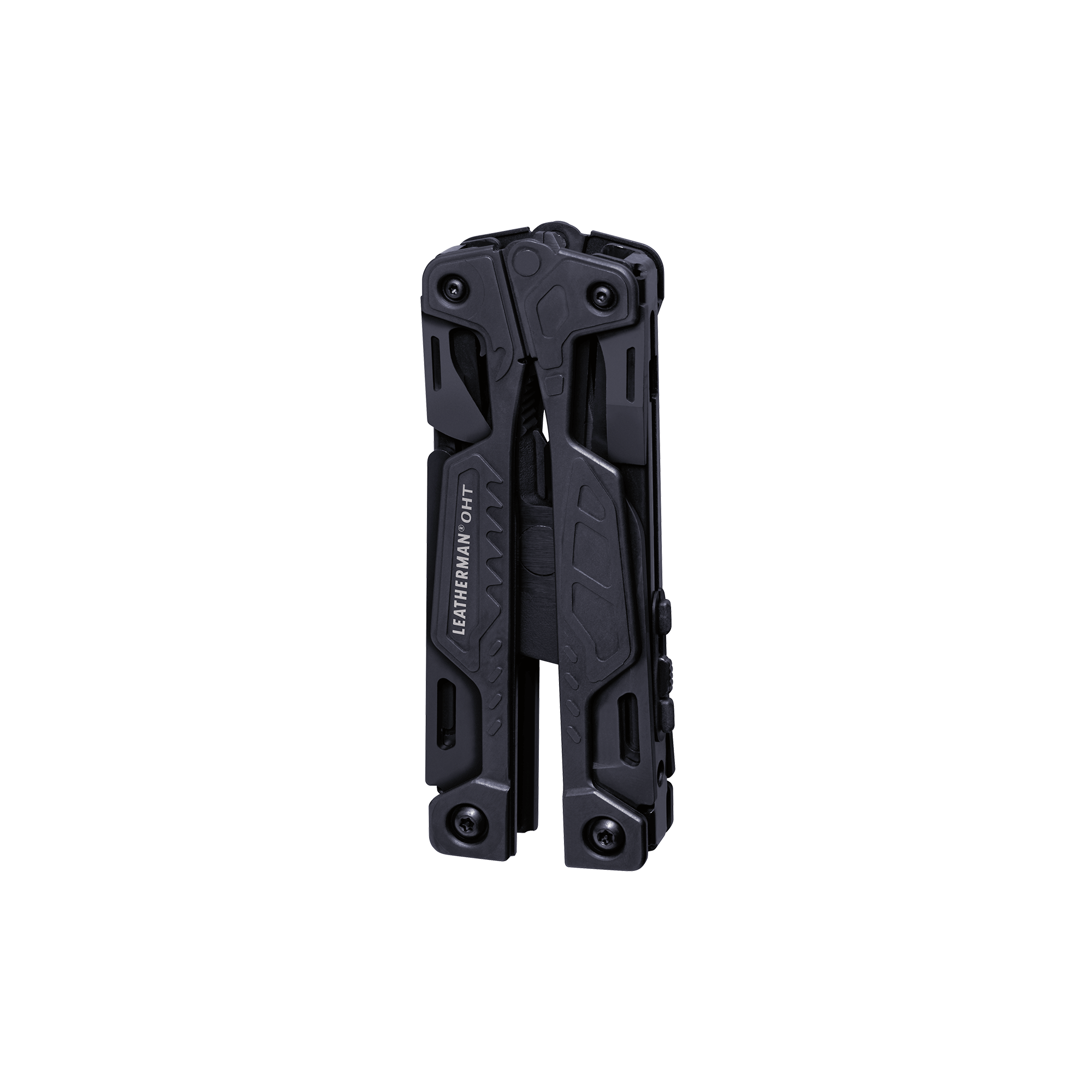 Leatherman OHT multi-tool, black, 16 tools, closed view