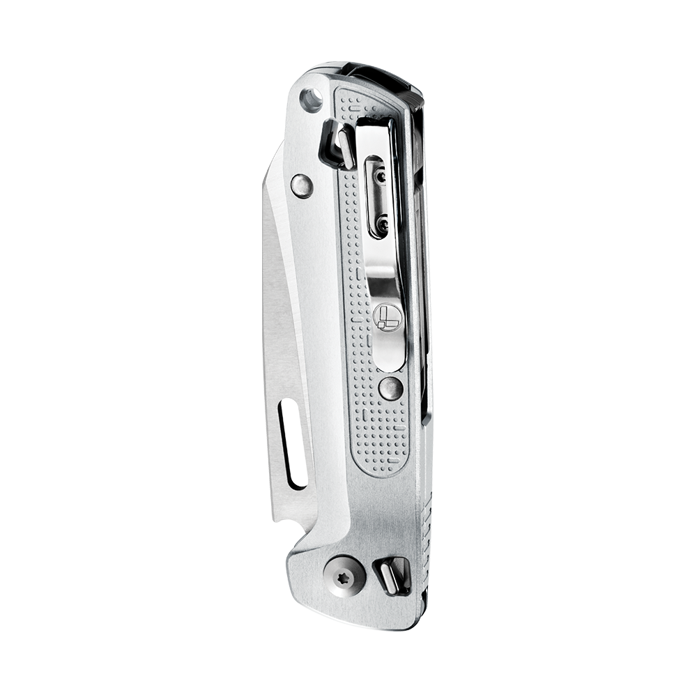 Leatherman FREE K2X, silver, closed view