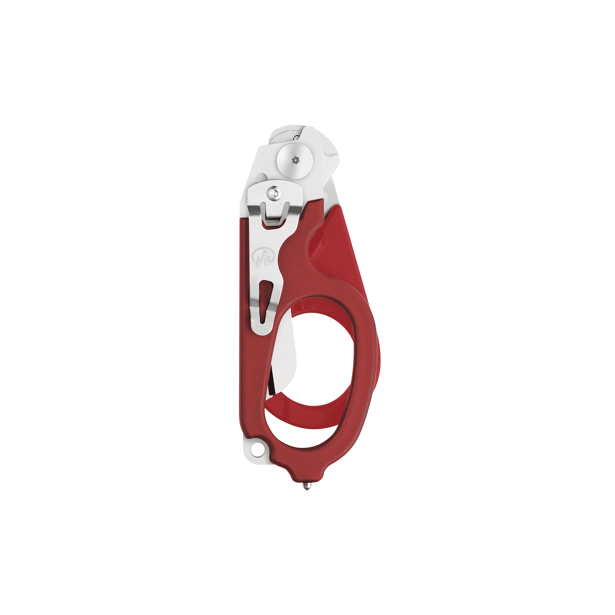 Leatherman Signal shears, red, closed view